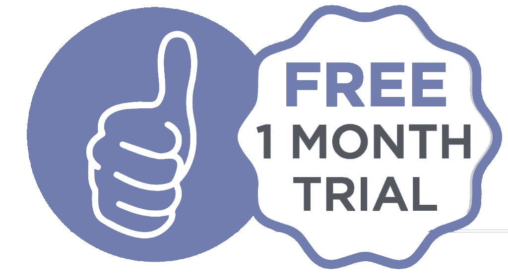 Free 1 Month Trial